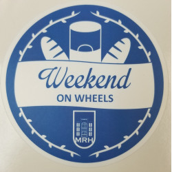 Weekend on Wheels Stickers