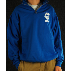 Royal 1/4 Zip Sweatshirt
